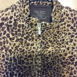 Leopard vest by charter club